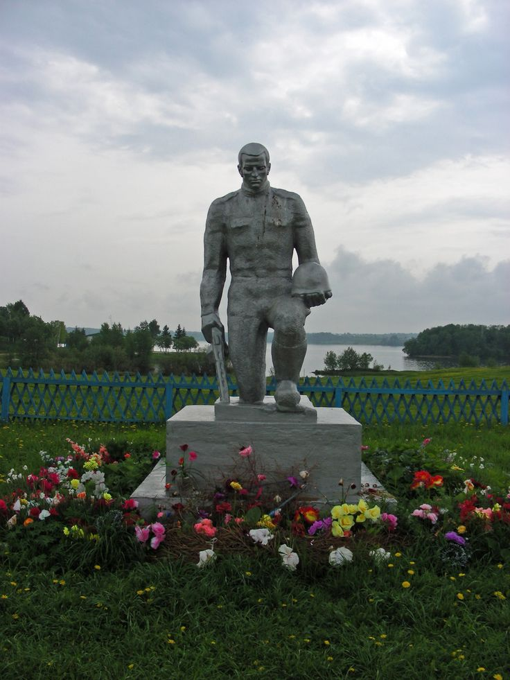This statue stands at the pier of Goritsy along the Volga River - Photo by Robert Craig, Group Escort