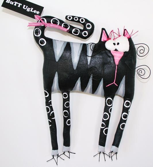 Cat named Wench by buttuglee on Etsy