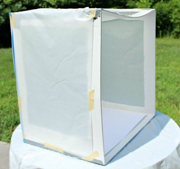 Photography Tip: Parchment Paper Light Box for Natural Light