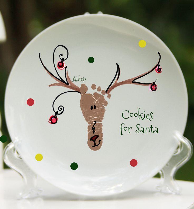 Reindeer Plate - Forever Prints