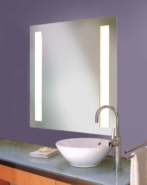 1000 images about medicine cabinet with light on - Bathroom mirrors with built in lights ...