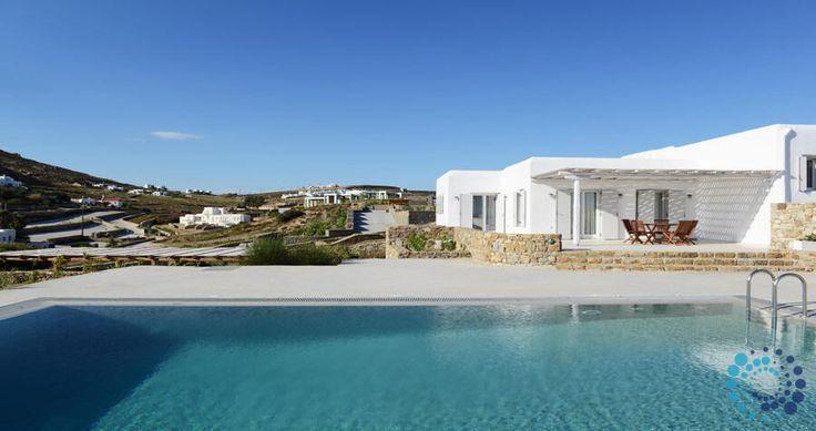"Welcome to the ""Villa Iliada"" in Mykonos, Greece. Your #luxury #villa #rent #greece #greek #island #vacances #grece #mygreekvilla #alouer"