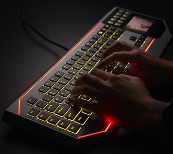Star Wars Keyboard With LCD Touchpad $260