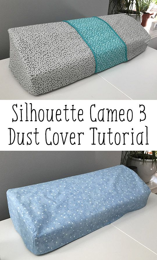 DIY Silhouette Cameo 3 Dust Cover
