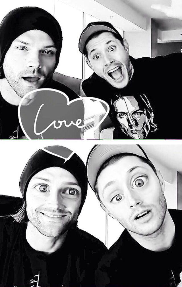 Supernatural ~ Jared Padalecki and Jensen Ackles - represent t-shirts