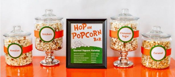 Dr. Suess Popcorn Bar
