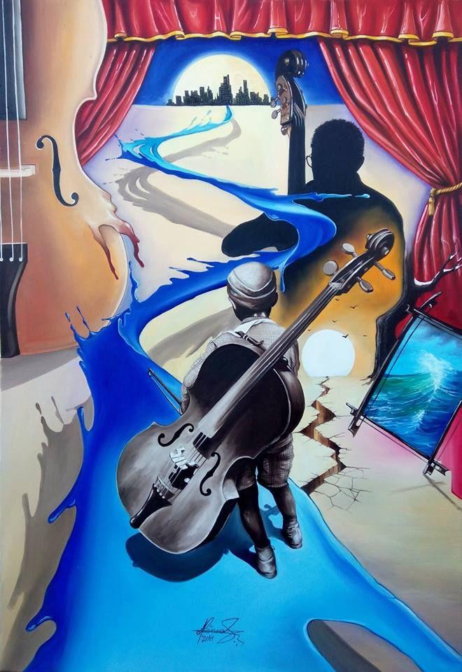 """""""The Path of Destiny"""" - Oil on canvas.   #art #painter #painture #surrealism"""