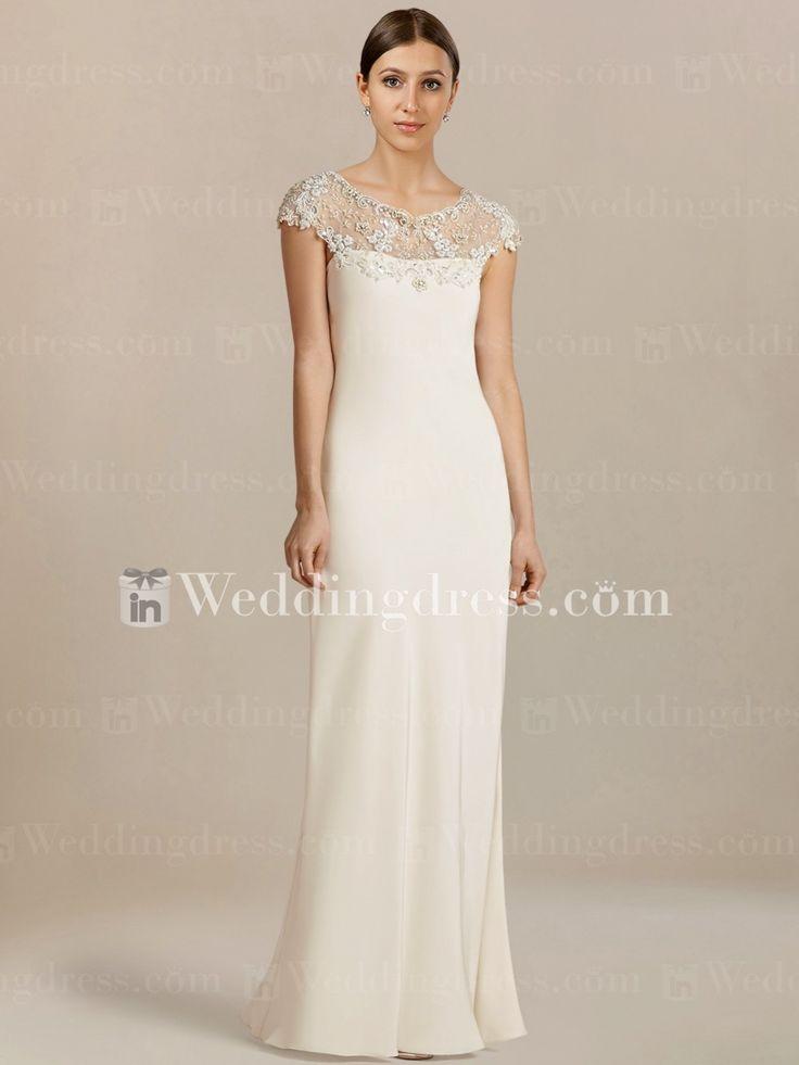 simple informal wedding dress - dressy dresses for weddings Check more at http://svesty.com/simple-informal-wedding-dress-dressy-dresses-for-weddings/