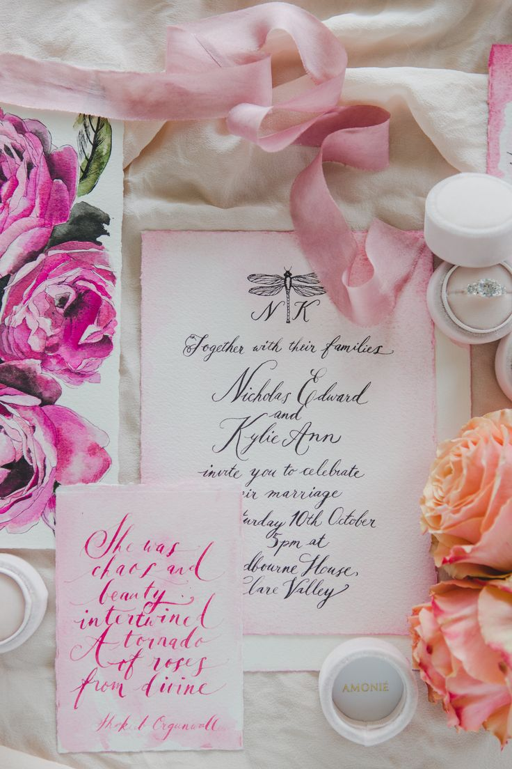 Photography: @justforlovephotography Ring Boxes: @amonieringboxes Paper Goods: @lindqvist_ink Silk Ribbon: @tinctifolia  Florals: @rosita_flowers