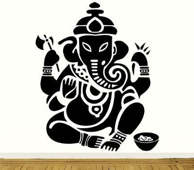 https://flic.kr/p/nM45Se | 155 AEY2038 VINIL HOGAR GANESH ELEFANTE INDU | Disponible en Vinil Autoadhesivo Resistente al agua y resistente al sol, para  mas informacion de medidas y precios escribir a   riccardozullian.enlamira@hotmail.com  #homedecor #decovinyl #roomdeco #indu #india #elefant #buda #ganesh #armonia #zen #art #science #inteligence #wisdom
