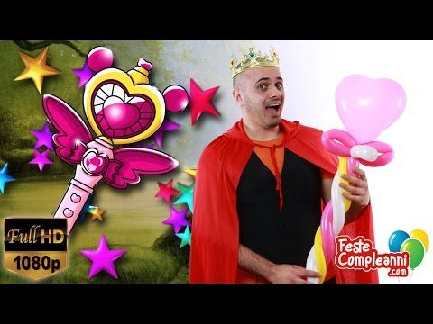 Palloncini Modellabili Scettro Regina - Balloon Art Tutorial - Video 146 - Feste Compleanni - YouTube Balloon Queen Scepter, how to twist with balloon art. Vedremo come fare una nuova scultura con i palloncini modellabili. Questa è una delle sculture più apprezzate e richieste dalle bambine durante le feste! Vediamo insieme come costruire lo Scettro della Regina.