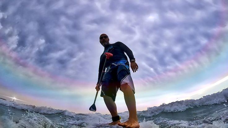 https://flic.kr/p/VuJEWA | surfing under the lighthouse | Torre Canne