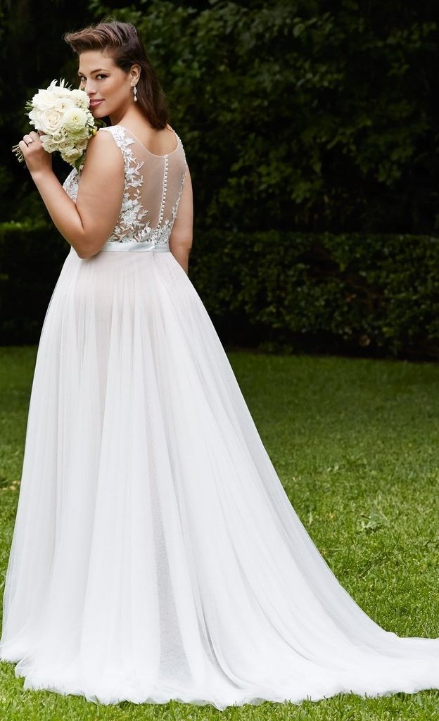 Plus size wedding dresses to help you shine and feel confident on your special day.
