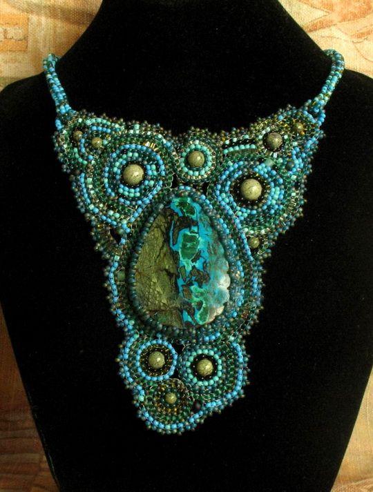 Beautiful jewelry by Albina Lapina   Beads Magic