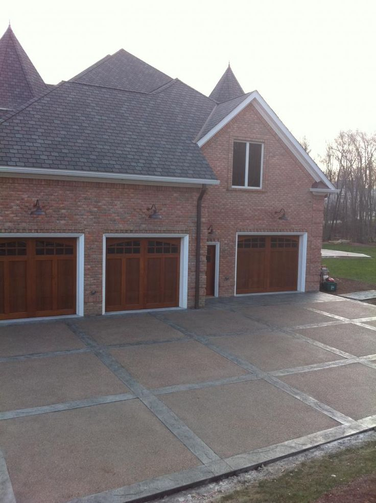 Stamped Concrete Driveway Long Island