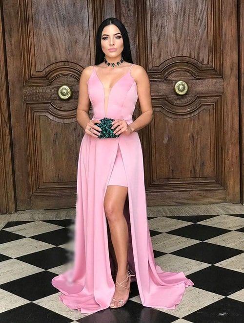 Vestido rosa para madrinha: 50 vestidos para usar em 2020 | Fashion, Dresses, Formal dresses