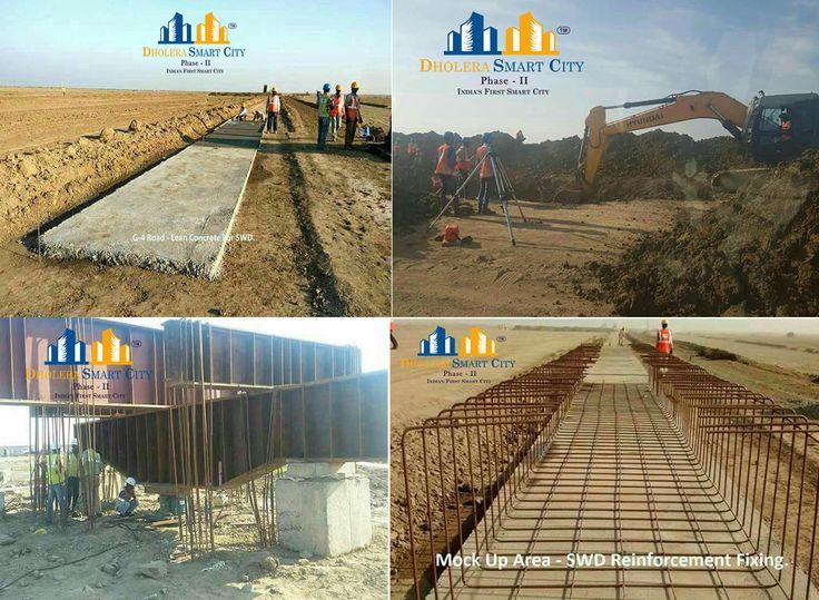 L&T construction work in full swing in Dholera. #Dholera #DholeraSIR #DholeraSmartCity #Gujarat