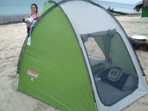 This Tent is perfect for the beach has a big back window so is cool inside also no problem w. & The 25+ best Beach shade tent ideas on Pinterest | Baby tent for ...
