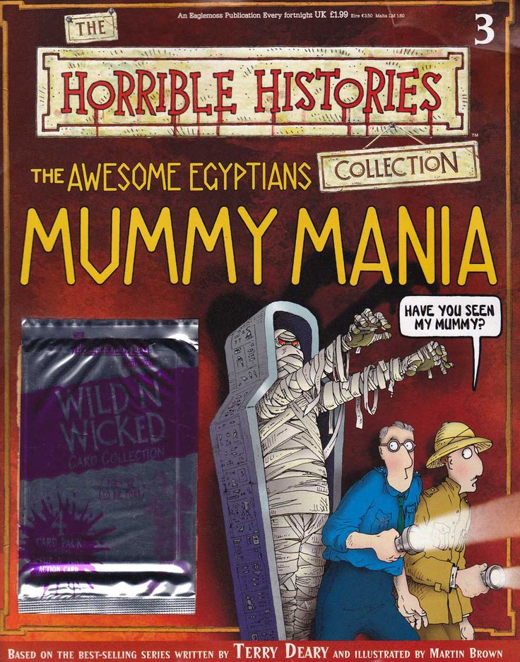 Awesome Egyptians Mummy Mania from Horrible Histories Magazines FREE online