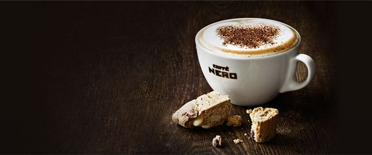 The best coffee I've found so far in England! Caffe Nero has a no fail cafe latte.