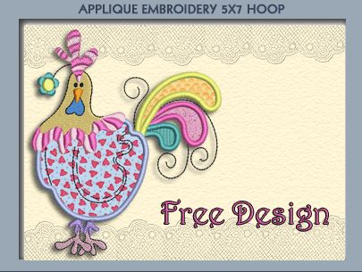 Colorful Free Design by SmartNeedle.  Thank you!