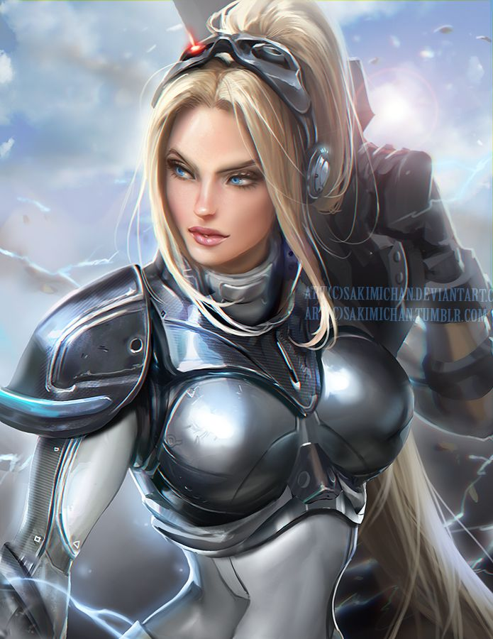 Dungeon sc2 anita blond