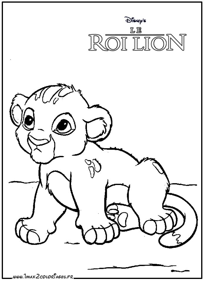 30 Coloriage Garde Du Roi Lion Facile Bathroom In 2019 Lion Disney