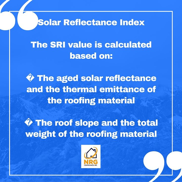 SRI (Solar Reflectance Index) provides an alternative to meeting solar reflectance and thermal emittance requirements for cool roofs. ‪#SRI‬ ‪#emittance‬ ‪#‎coolroof‬ #‎T24EnergyReports‬