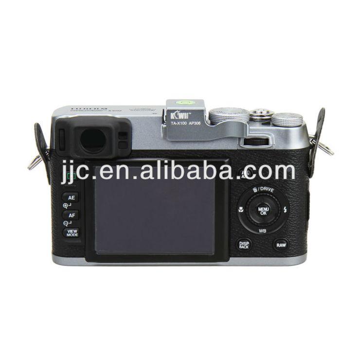 Kiwifotos TA-X100 Thumb Up Grip For Fuji Finepix X100 X100S Camera #Fuji_X100, #silver