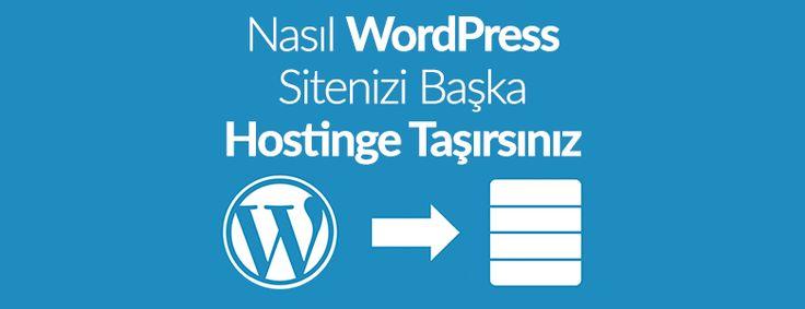 Wordpress sitenizi yeni aldığınız başka hosting firmasıyla değiştirme ve hosting taşıma işlemini nasıl yapacağınızı adım adım göstereceğiz.