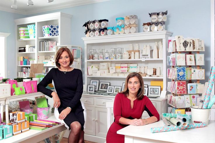Amy Bass and Evvy Diamond came to owning a stationery store from different paths. Their complimentary skills make them a great team.