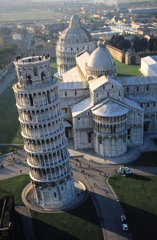 The Leaning Tower of Pisa, Italy.  Photo: Getty.