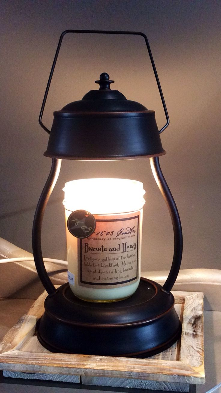 Hurricane Candle Warmer Lantern - Oil Rubbed Bronze