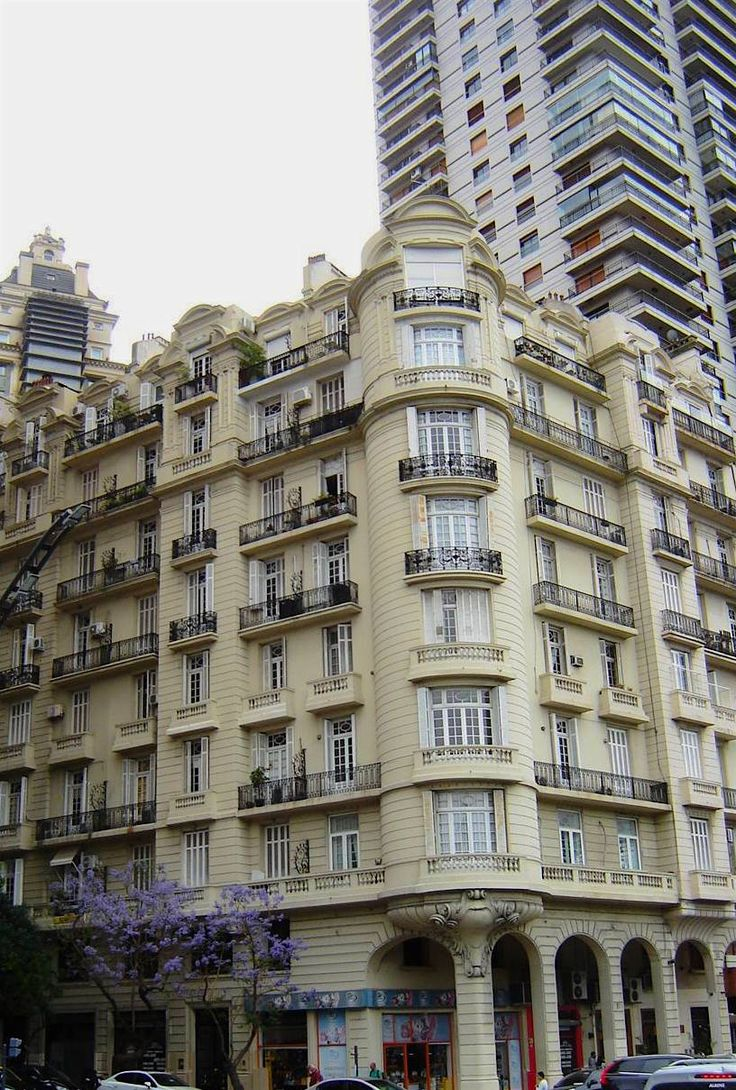 Modern vs old in Buenos Aires