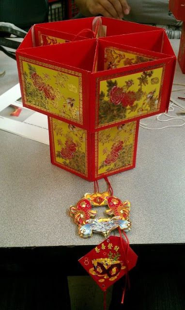 7 best chinese new year deco images on pinterest chinese for Ang pao fish tutorial