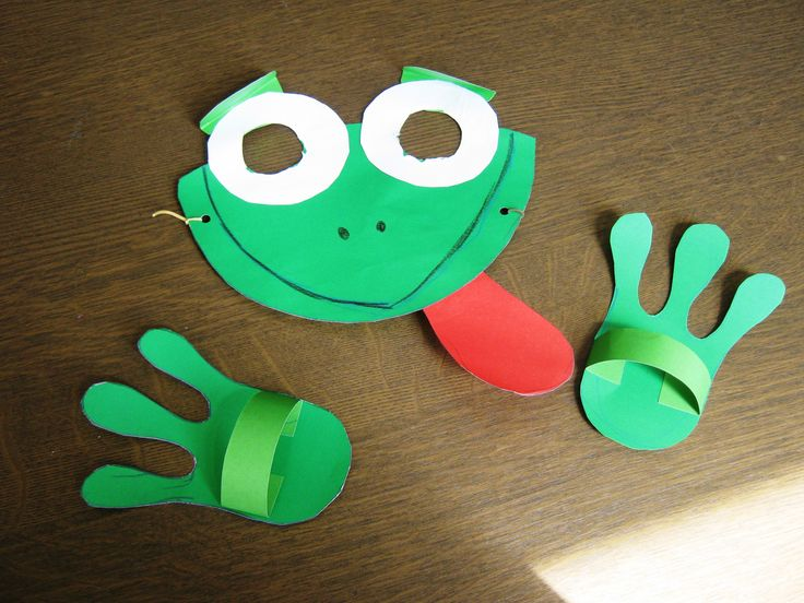 Frog Mask and hands/feet ;)