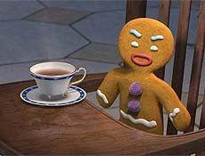 """Biscoito de gengibre é uma tradição nos EUA e personagem querido da série de filmes """"Shrek"""""""