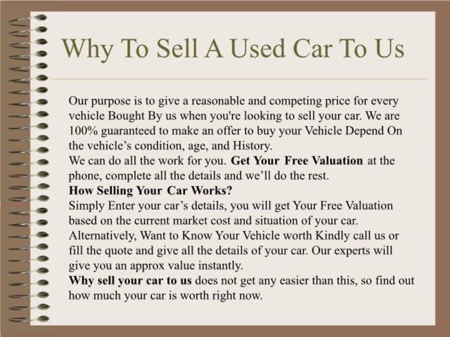 Welcome To Sell8 Com Au We Are Qld S Best Car Buyers We Offer