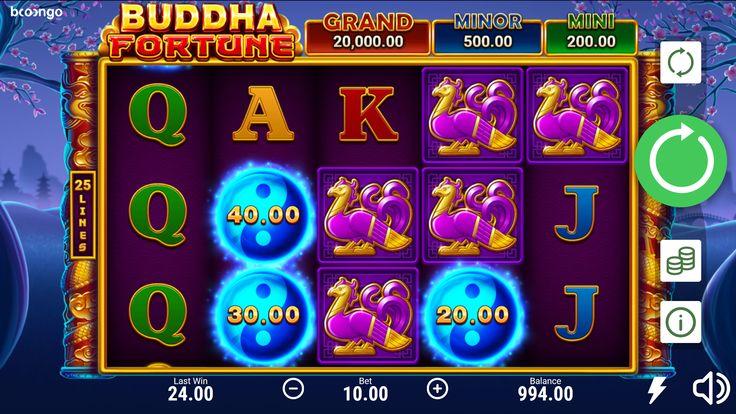 Buddha Fortune Hold and Win Slot Machine