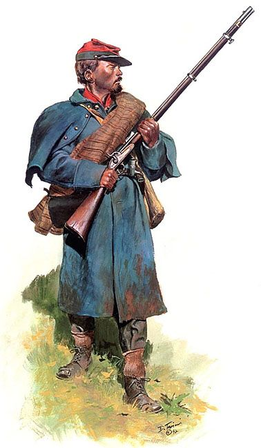 """""""Crutchfield's Virginia heavy artillery Battalion, 1865"""", Don Troiani"""