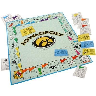 Iowa Hawkeyes Iowaopoly Board Game