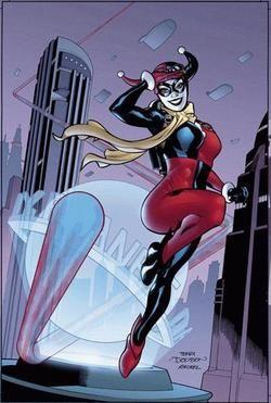blog Indo além da caixinha: Alerquina - Harley Quinn.
