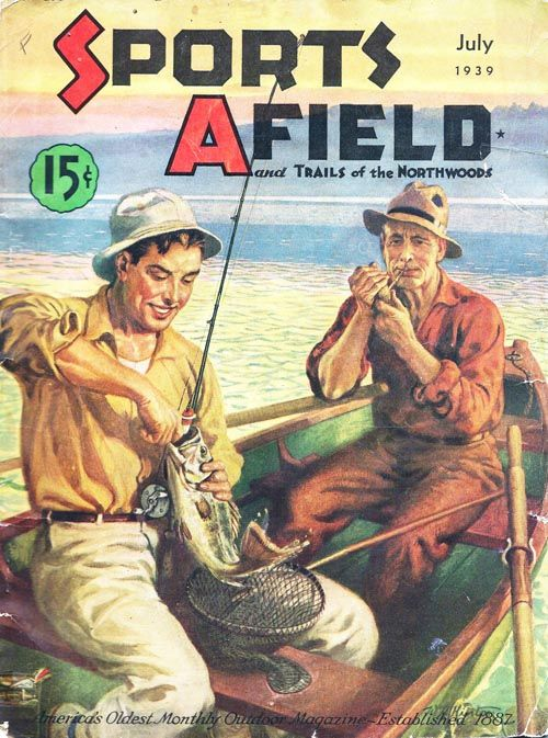 133 best vintage outdoor magazine art images on pinterest for Free fishing magazines