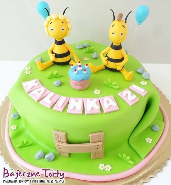 Torty dla dzieci, torty Warszawa, tort Pszczółka Maja