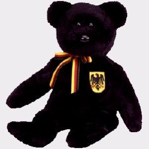 A cute little bear - Freiherr von Schwartz the bear (German Exclusive), Beanie Baby - Retired