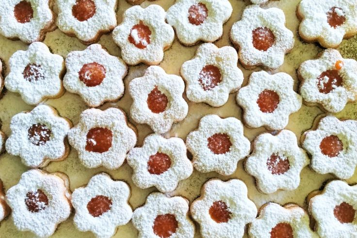 HOW TO MAKE #LINZER COOKIES, Resipes and video tutorial