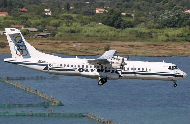 Olympic aviation ATR-72-202 [Melina Hellas]-[SX-BIL]