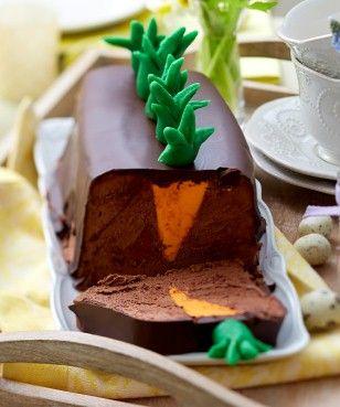 """Das Rezept für """"Möhrchenterrine""""  à la Mousse au Chocolat und weitere kostenlose Rezepte auf LECKER.de"""