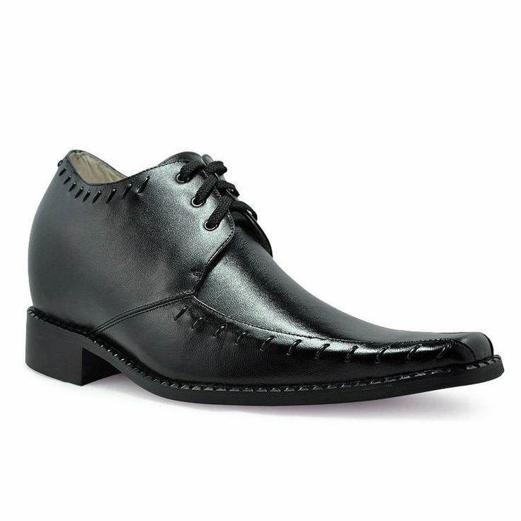 Black leather dress Europe Shoes - Oxford shoes for men/boys WEDDING EMS/DHL
