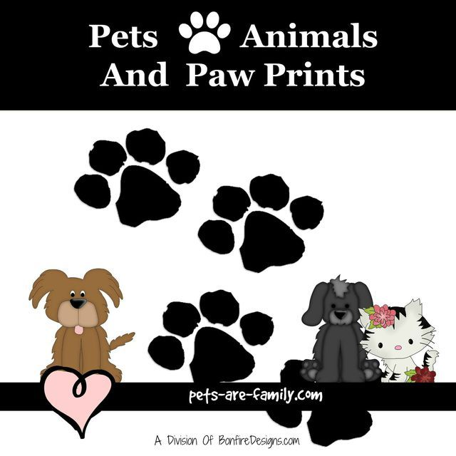 Pets Animals and Paw Prints Gift Ideas